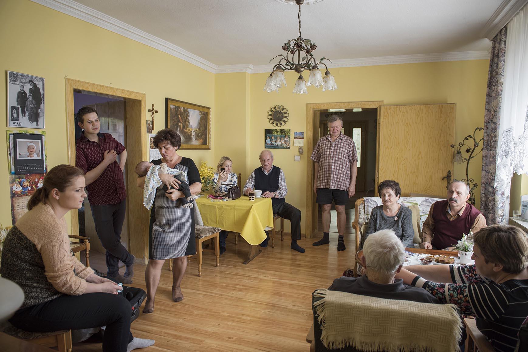 Większa część rodziny Państwa Prochasek mieszka po sąsiedzku, więc często wpadają w odwiedziny. W każdej chwili mogą liczyć na wsparcie i pomoc.